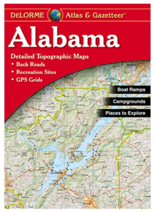 Alabama DeLorme Atlas & Gazetteer
