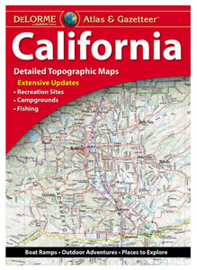 California DeLorme Atlas & Gazetteer
