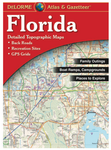 Florida DeLorme Atlas & Gazetteer