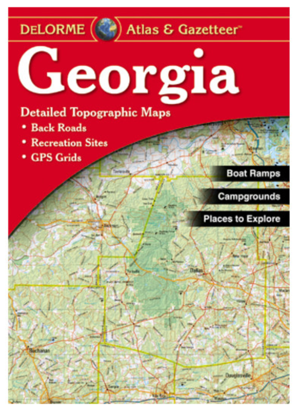 Georgia DeLorme Atlas & Gazetteer