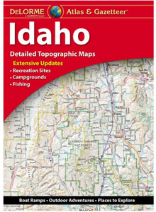 Idaho DeLorme Atlas & Gazetteer
