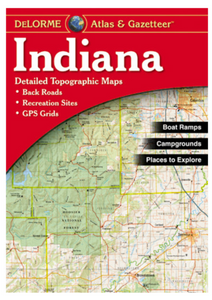 Indiana DeLorme Atlas & Gazetteer