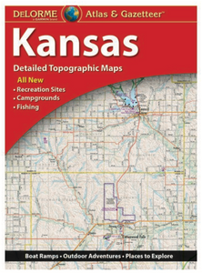 Kansas DeLorme Atlas & Gazetteer