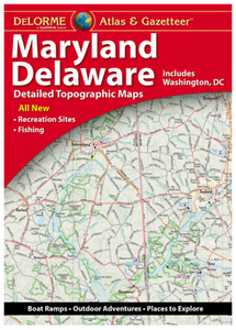 Maryland/Delaware DeLorme Atlas & Gazetteer