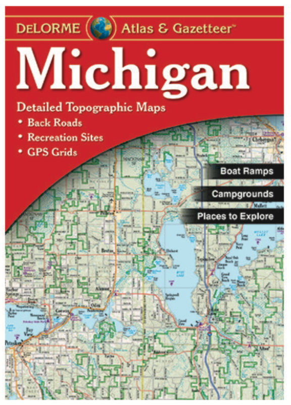 Michigan DeLorme Atlas & Gazetteer