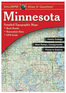 Minnesota DeLorme Atlas & Gazetteer