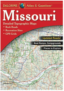 Missouri DeLorme Atlas & Gazetteer