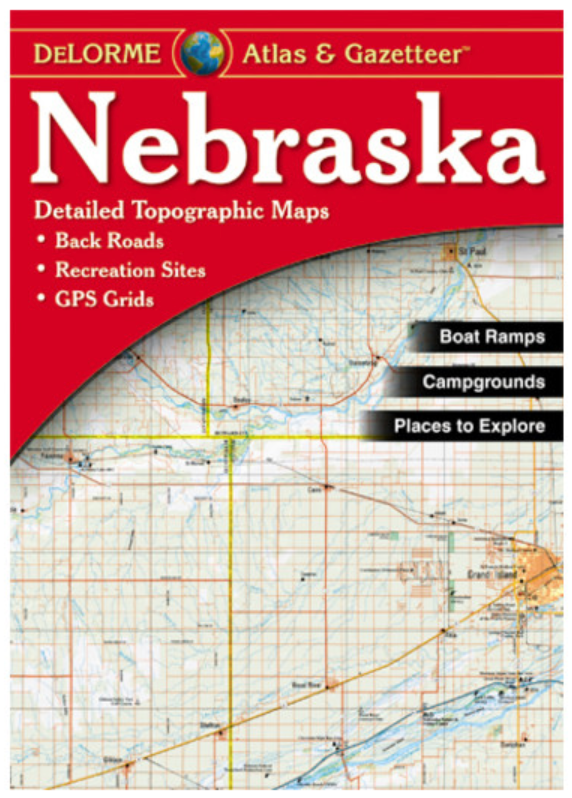 Nebraska DeLorme Atlas & Gazetteer