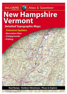 New Hampshire/ Vermont DeLorme Atlas & Gazetteer