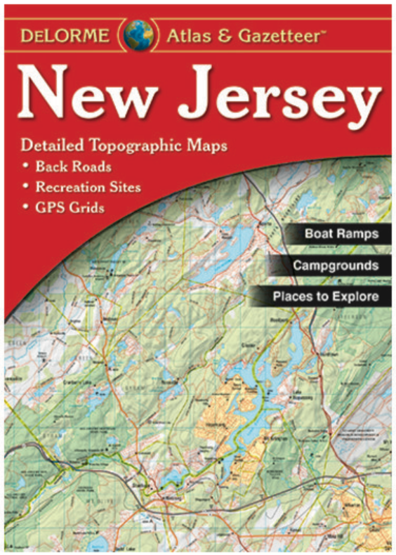 New Jersey DeLorme Atlas & Gazetteer