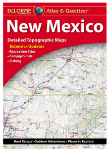 New Mexico DeLorme Atlas & Gazetteer