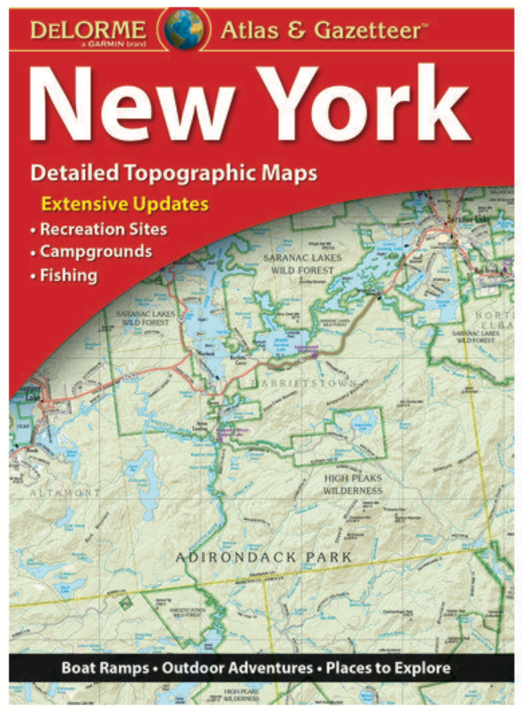 New York DeLorme Atlas & Gazetteer