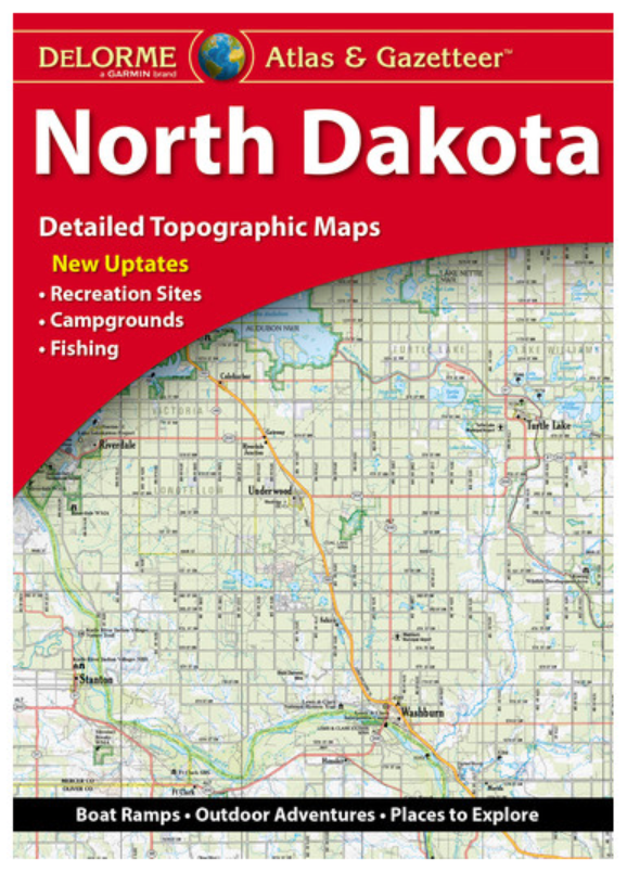 North Dakota DeLorme Atlas & Gazetteer