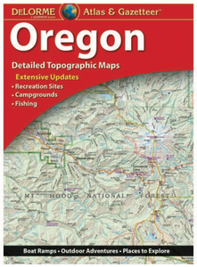 Oregon Delorme Atlas & Gazetteer