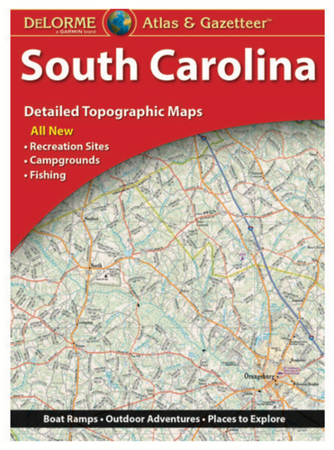 South Carolina DeLorme Atlas & Gazetteer