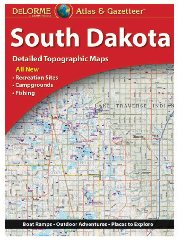 South Dakota DeLorme Atlas & Gazetteer