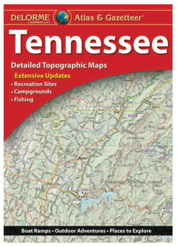 Tennessee DeLorme Atlas & Gazetteer