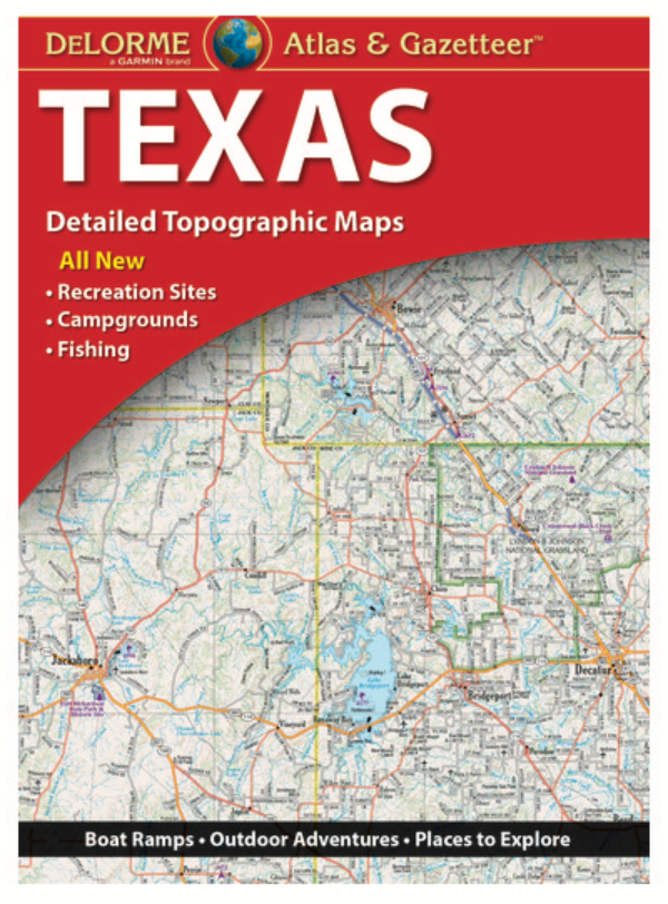 Texas DeLorme Atlas & Gazetteer