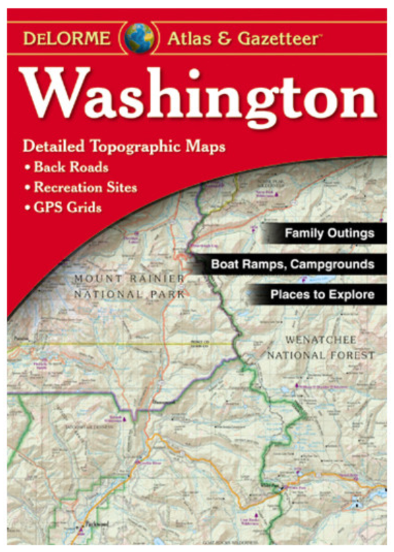 Washington DeLorme Atlas & Gzaetteer