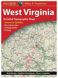 West Virginia DeLorme Atlas & Gazetteer