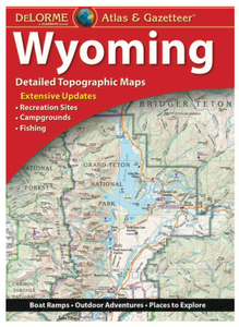 Wyoming DeLorme Atlas & Gazetteer