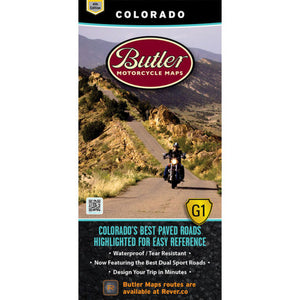Colorado Folding Map - Butler - Houston Map Company