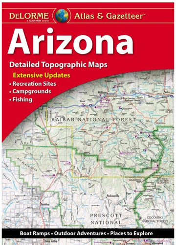 DeLorme Arizona Atlas & Gazetteer
