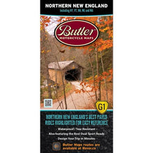 Northern New England Folding Map - Butler - Houston Map Company