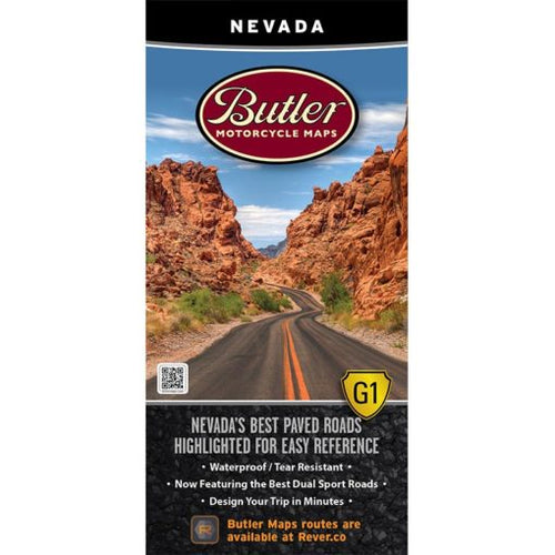 Nevada Folding Map - Butler - Houston Map Company