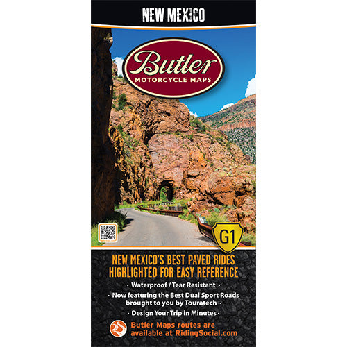 New Mexico Folding Map - Butler - Houston Map Company