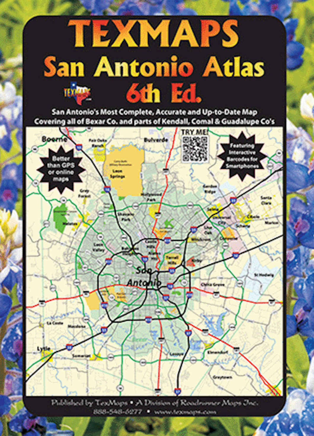 San Antonio Atlas - Houston Map Company