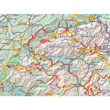 Southern Appalachia (AL, TN, NC, SC, GA) Folding Map - Butler - Houston Map Company