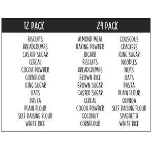 Pantry Labels - Pre Selected