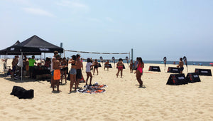 TENTERA x SOLE Bicycle Beach Volleyball Competition