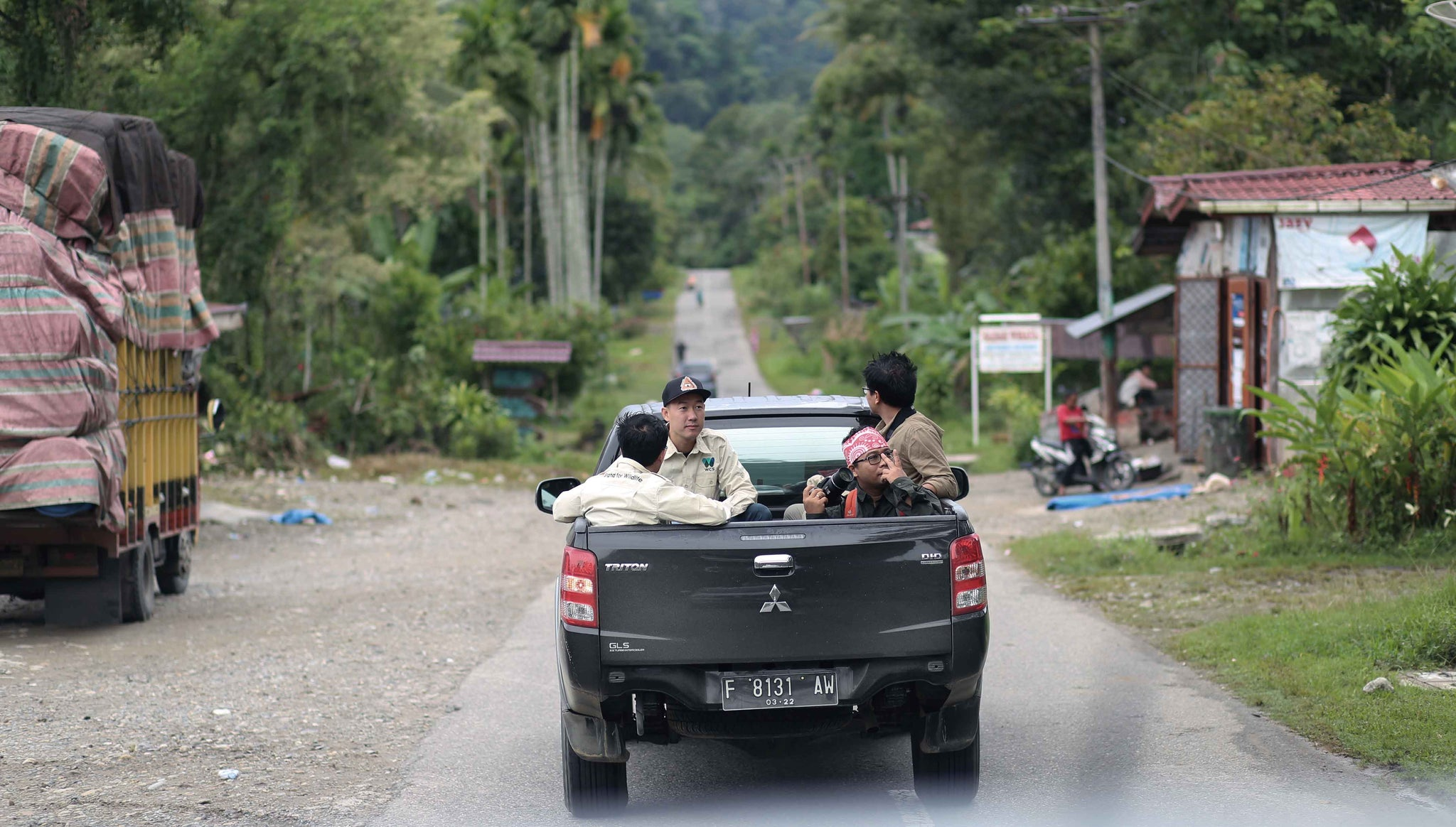 Leuser, UNESCO World Heritage Site, with Wildlife Conservation Society (WCS)