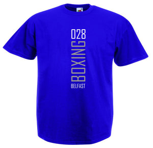 028 BOXING BELFAST T-SHIRT