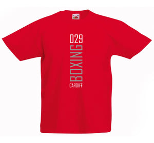 029 BOXING CARDIFF T-SHIRT
