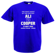 ALI VS COOPER BOXING T-SHIRT
