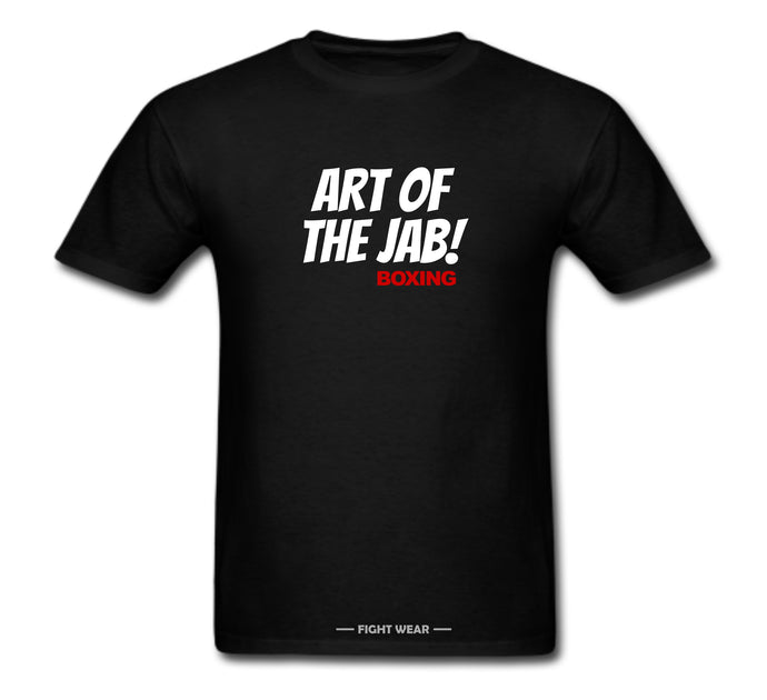 ART OF THE JAB BOXING T-SHIRT