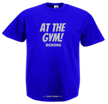 AT THE GYM BOXING T-SHIRT - FIGHTWEAR