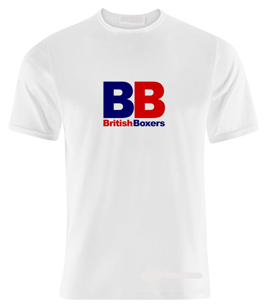 BB BRITISH BOXERS BOXING T-SHIRT