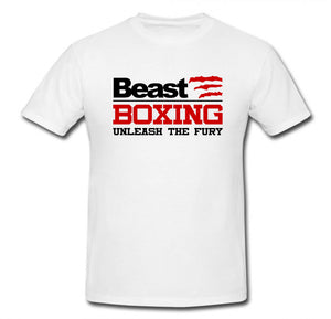 BEAST BOXING UNLEASH THE FURY T-SHIRT
