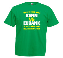 NIGEL BENN VS CHRIS EUBANK BOXING T-SHIRT