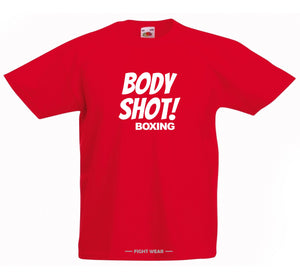 BODY SHOT BOXING T-SHIRT - FIGHTWEAR