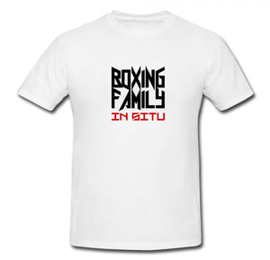BOXING FAMILY IN-SITU T-SHIRT (CHEST LOGO)