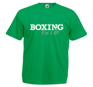 BOXING FOR LIFE T-SHIRT