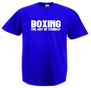 BOXING THE ART OF COMBAT T-SHIRT