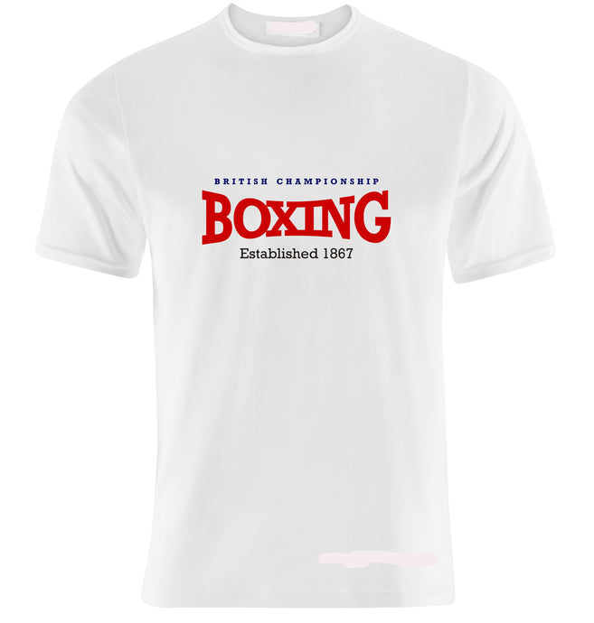 BRITISH CHAMPIONSHIP BOXING T-SHIRT