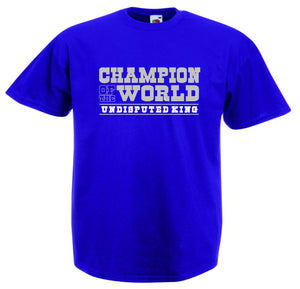 CHAMPION OF THE WORLD T-SHIRT