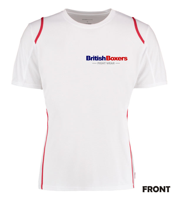 BRITISH BOXERS FIGHT WEAR TRAINING TOP - COOLTEX GAMEGEAR